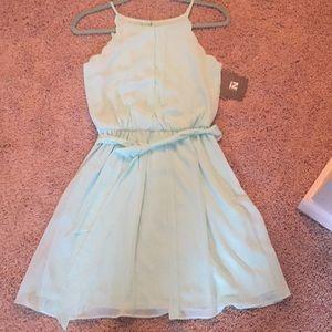 Seafoam color dress